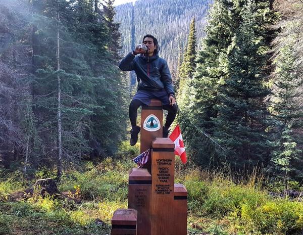 미국 캐나다 국경 기나긴 여정의 마침표. 피시티라는 이름의 길은 끝났지만 내 인생의 또 다른 길은 이제부터 다시 시작이다.
