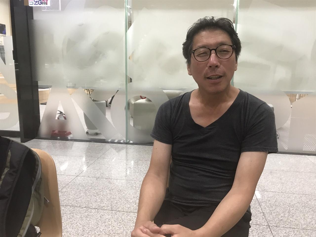 평화의 소녀상 조각한 김운성 작가