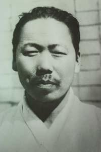 권덕규 선생의 모습.