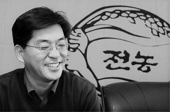 고 박민웅 전국농민회총연맹 부산경남연맹 의장.