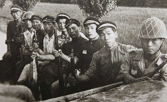 6.25 한국전쟁 때는 적지 않은 학도병이 전투에 나섰고, 희생됐다.