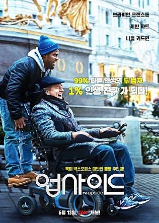 영화 <업사이드> 포스터