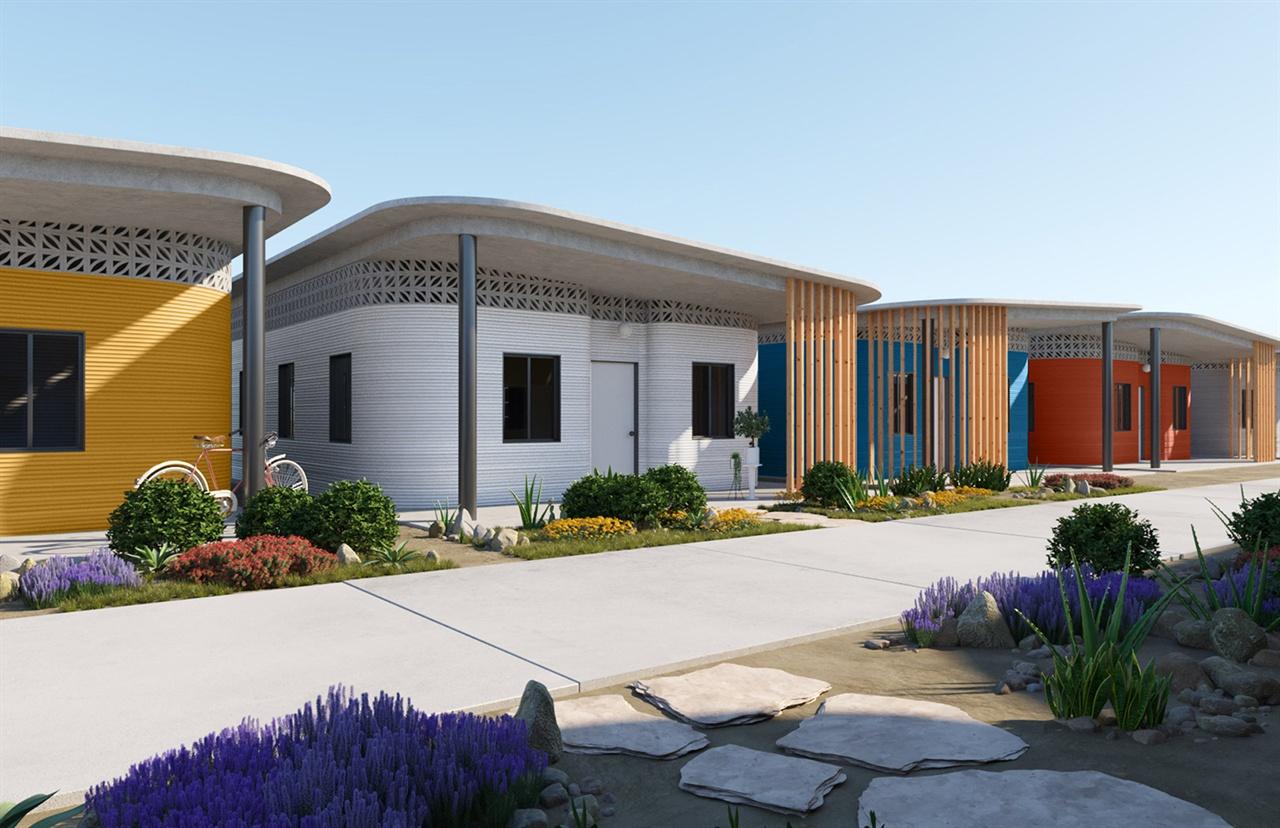 이브 베하가 빈민을 위해 디자인한 3D 프린팅 빌리지 ⓒ
