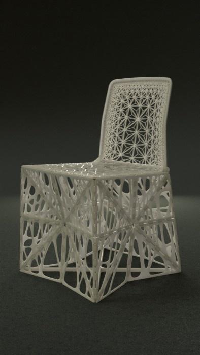 'TAMU' 의자가 펼쳐진 모습