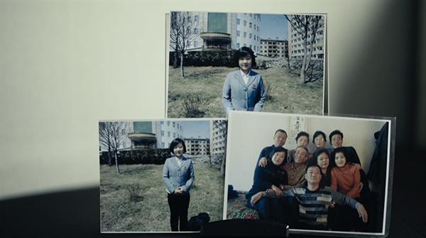 북한 송환을 요구하는 김련희씨 이야기를 담은 이승준 감독 <그림자꽃>의 한 장면