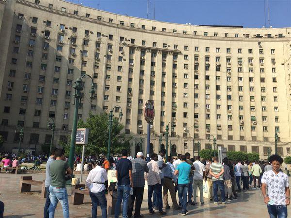 카이로 정부종합청사.