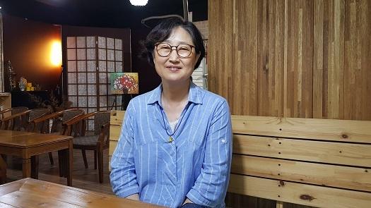 이진숙 3기 충남도인권위원장.