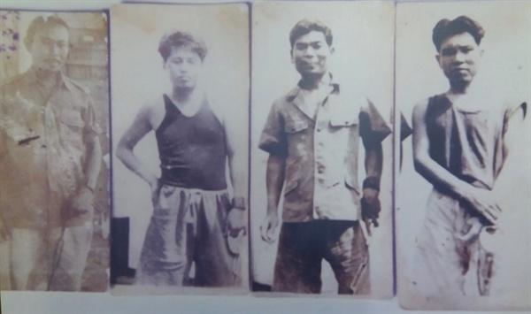 인도네시아 독립 전쟁에 뛰어든 '빵에란 빠빡(Pasukan Pangeran Papak)' 부대원 '빵에란 빠빡(Pasukan Pangeran Papak)' 부대원들. 왼쪽에서 두 번째가 양칠성이다.