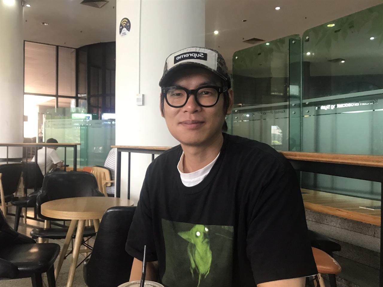 <윤동주 콘서트 별 헤는 밤>을 연출한 고국진 PD