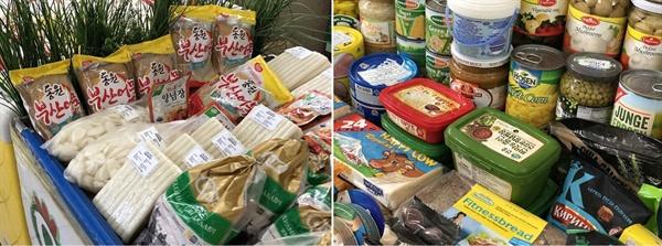 울란바타르 시내 재래 시장인 미르쿠리 시장에서도 우리 고추장이나 떡 따위 우리 먹거리를 팔고 있었습니다.