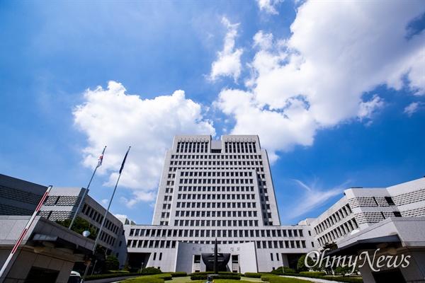 26일 오후 서울 서초구 대법원의 전경