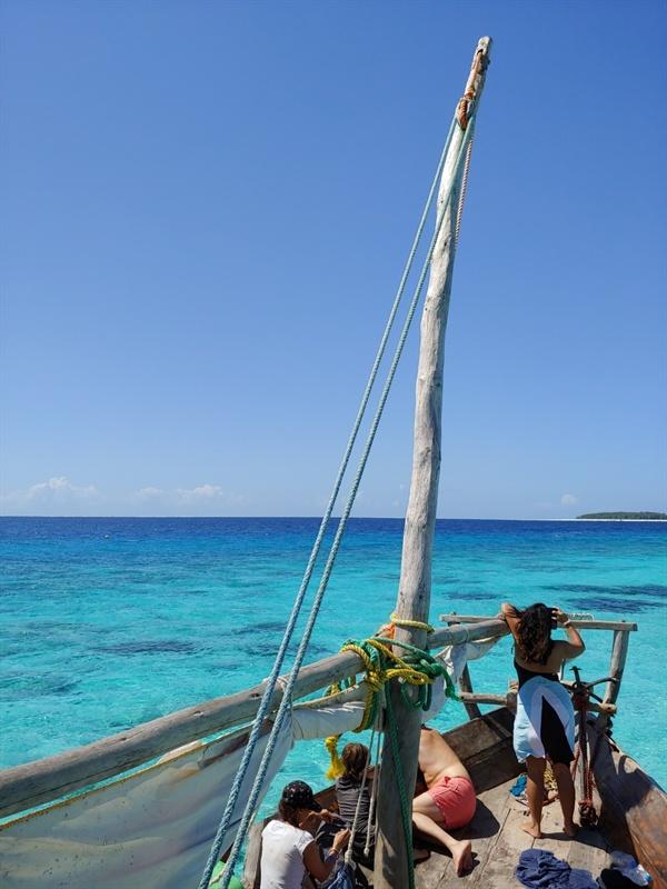 탄자니아 잔지바의 바다