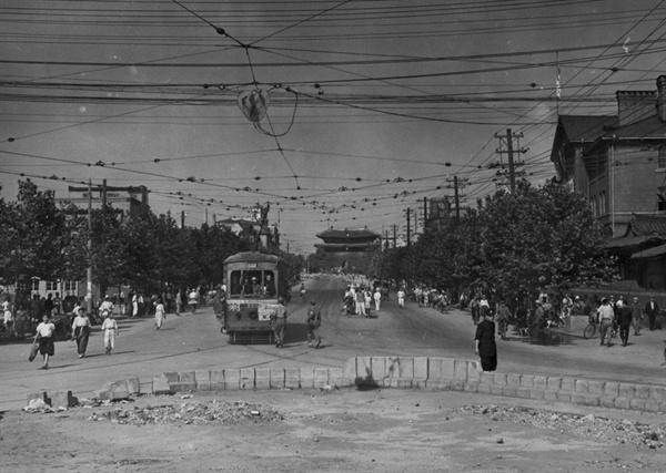 서울 수복 직후의 남대문 일대(1950. 9.).