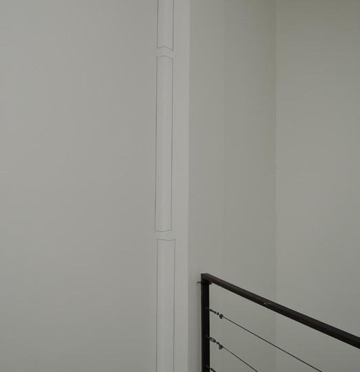 프레드 샌드백 I '무제(Vertical Corner Piece)' 1/32인치 지름의 스피링강과 고무줄 1968