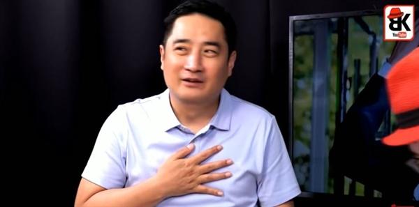 보수 유튜브 채널에 출연한 강용석 변호사.