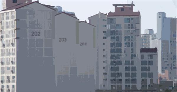 어느 아파트에 사는지를 따져 사람을 차별하기도 한다.