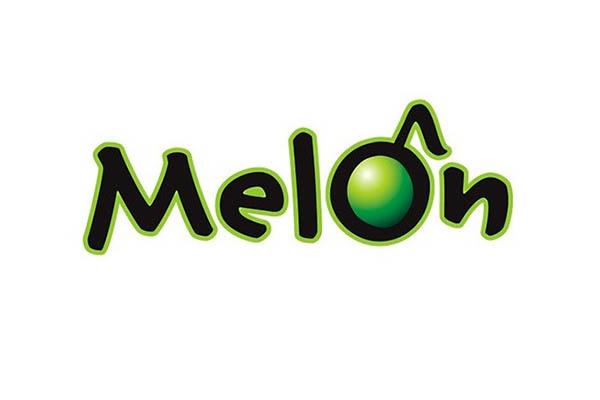 음원사이트 멜론의 로고