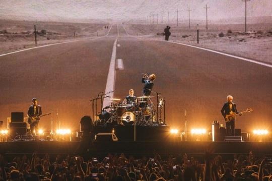 43년만에 첫 내한 공연을 펼치는 아일랜드 밴드 U2