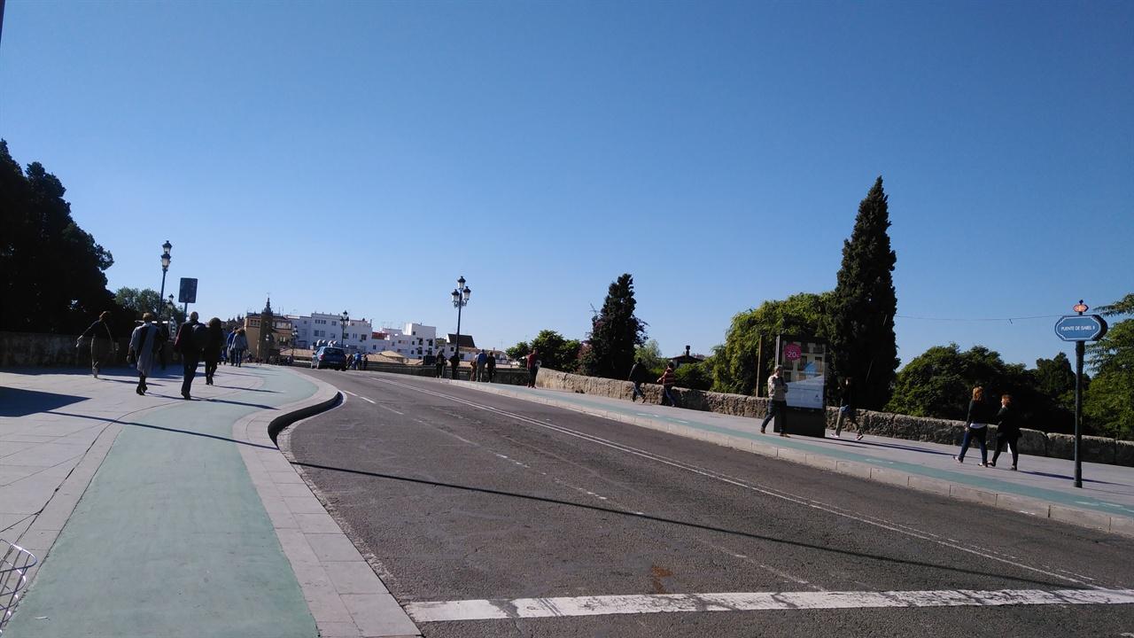 스페인 세비야의 거리