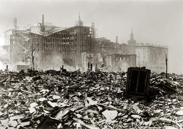 1923년 일어난 관동대지진.