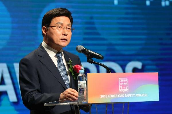김형근 한국가스안전공사 사장.
