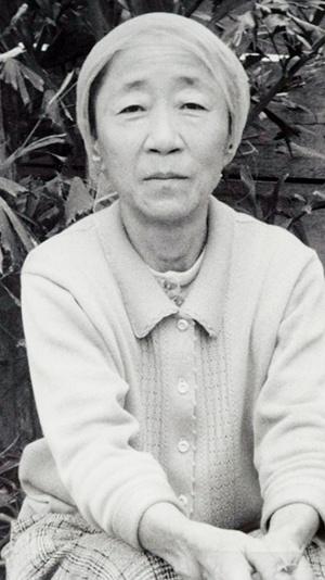 일본군 '위안부' 최초 증언자 배봉기 할머니의 모습.