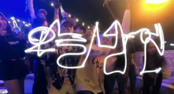 기린은 'City breeze'로 과거 콜라보레이션 한 바 있던 박재범과 함께 새로운 EP <Baddest Nice Guys>를 발표하며 세련된 2019년 한국의 언더그라운드 문화를 조명했다.