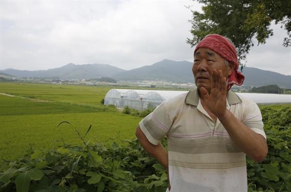 내동마을에서 만난 이무진 씨. 그는 왜덕산의 존재를 처음 알린 고 이기수 씨의 아들이다.