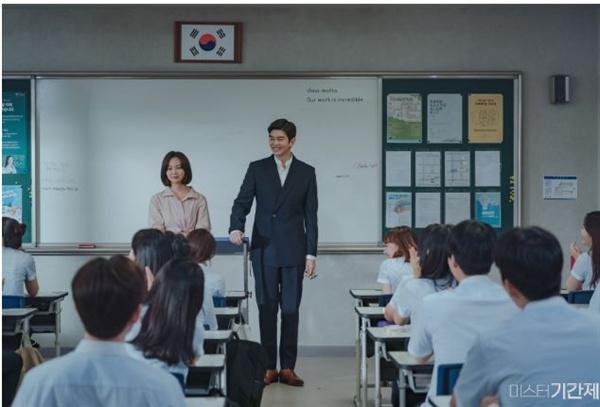 OCN 드라마 <미스터 기간제> 스틸 컷