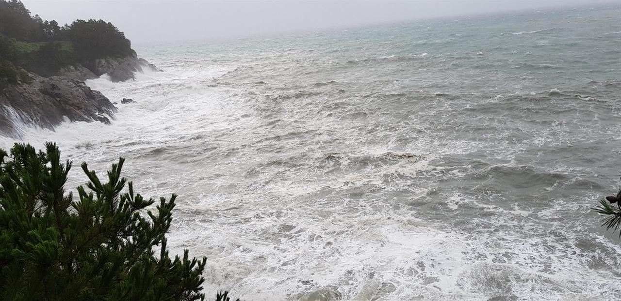 산더미만한 파고 동반한 제13호 태풍 링링