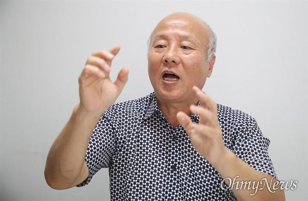 박석운 한국진보연대 상임공동대표