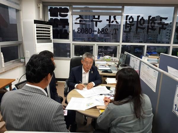 전남지역 사회복지사의 처우개선과 지위향상을 위한 논의가 이루어졌다.