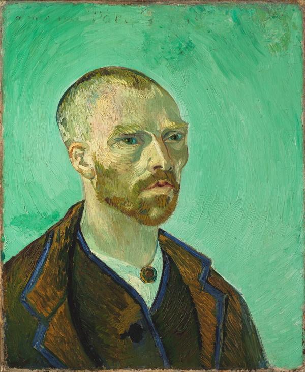 고흐, 「폴 고갱에게 헌정한 불교적 자화상」 1888년 매사추세츠 포그 미술관