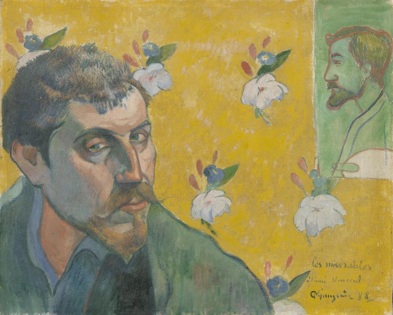 고갱, 「레 미제라블」1888년  반 고흐 미술관