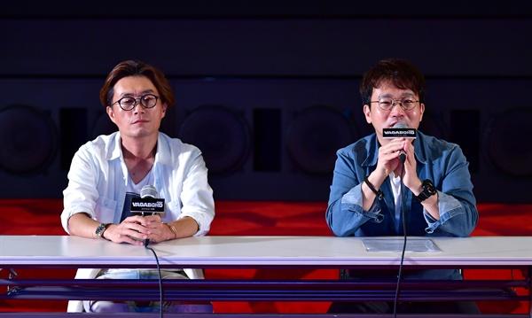 SBS 새 금토 드라마 <배가본드> 시사회 및 기자간담회