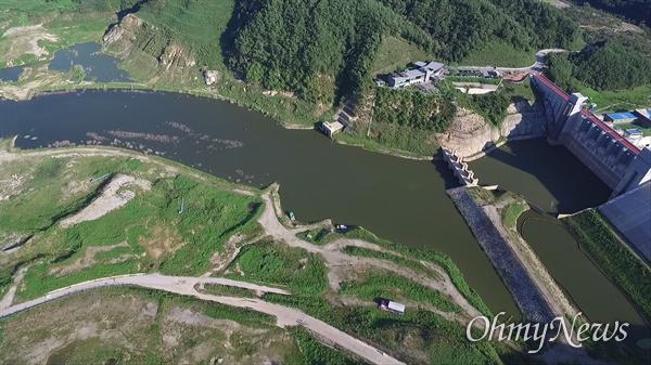 지난 8월 30일 낙동강 상류 경북 영주댐.