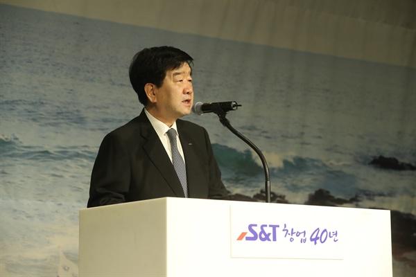 S&T그룹 최평규 회장.