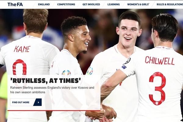 잉글랜드 대표팀 성공적인 세대교체로 순항 중인 잉글랜드가 유로 2020 예선에서 복병 코소보를 5-3으로 제압했다.