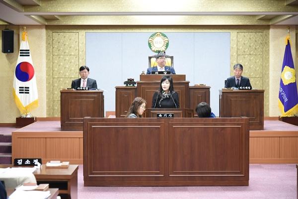 자유한국당 김소정 부산 사하구의원.