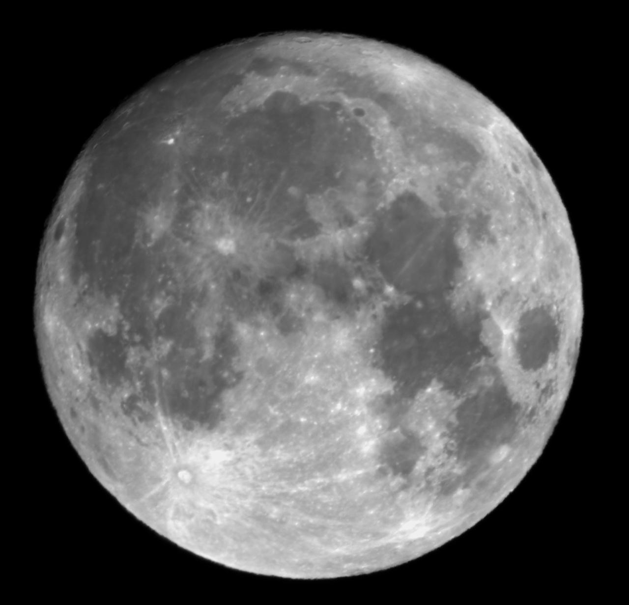 2019년 9월 13일 19시 13분 촬영한 '꼬마보름달'