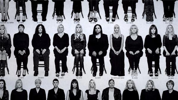 장편 다큐멘터리 '글로리아 올레드 : 약자 편에 선다'영화에 삽입된 뉴욕 매거진 커버 이미지 일부. 빌 코스비의 성폭력을 고발한 여성들의 모습이다. 영화 장면을 캡처했다.