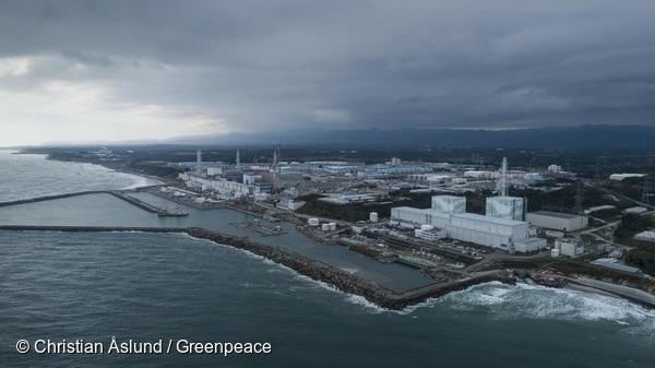 국제환경단체 그린피스가 지난해 촬영한 후쿠시마 원자력발전소 모습