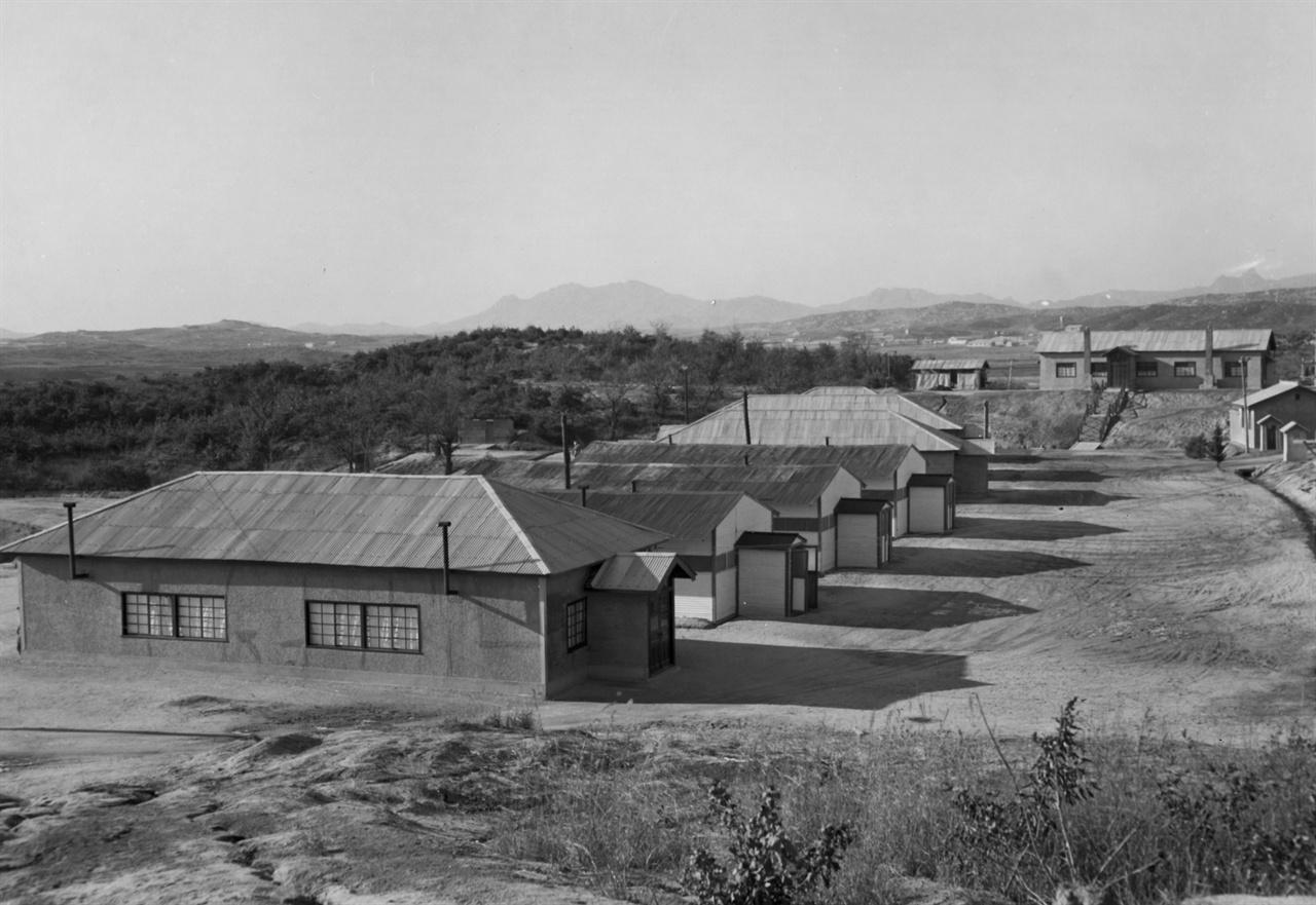 판문점, 정전회의 중립국 사무실(1953.).