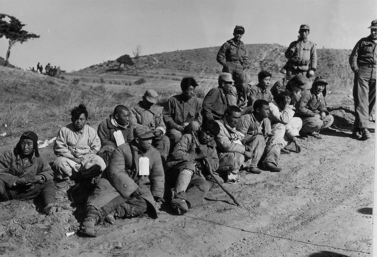 공산군 측 포로.