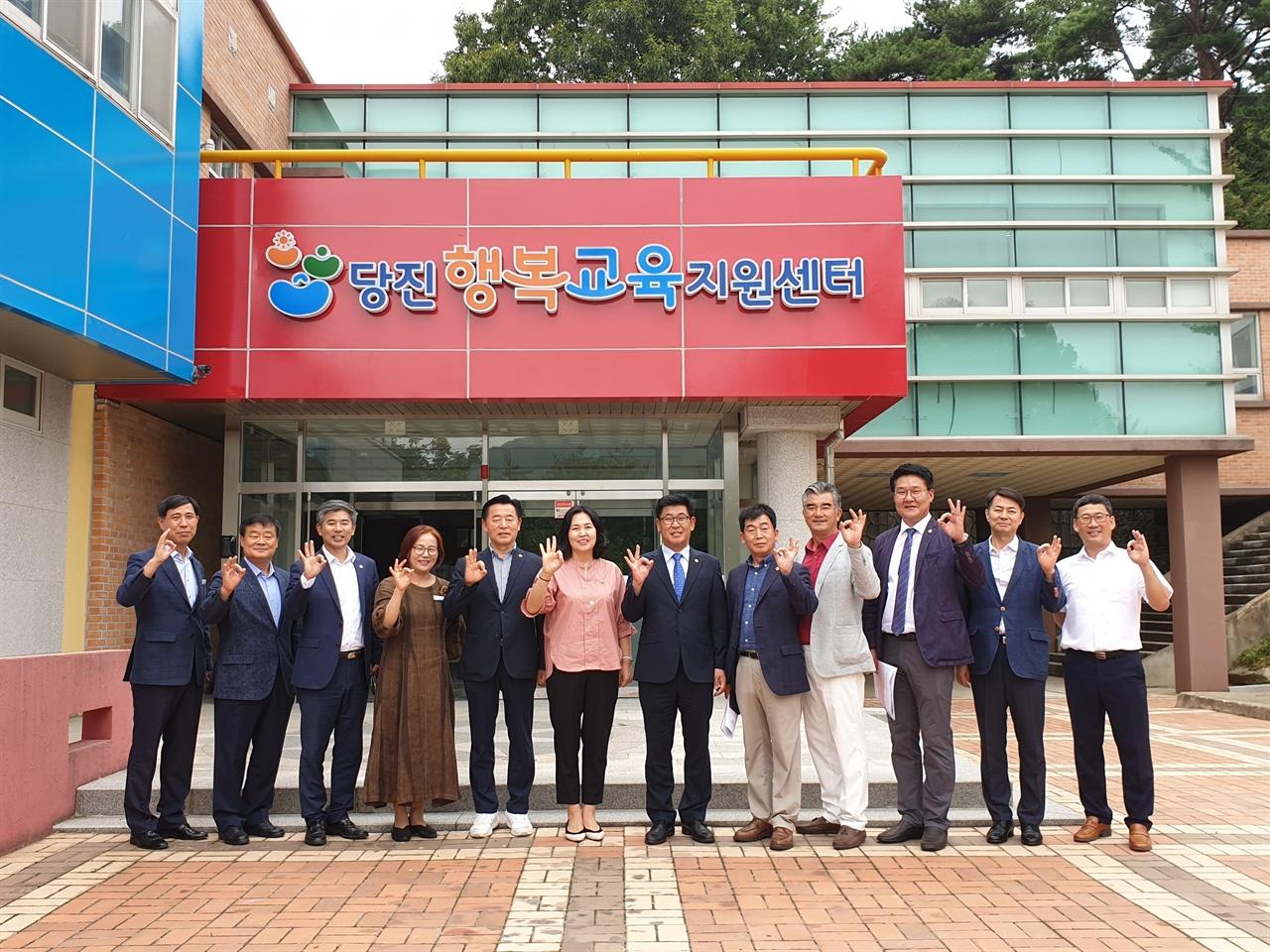 충남도의회 교육위원회가 교직원 휴양시설 신축 후보지인 태안과 당진을 지난 2일과 3일 방문했다.