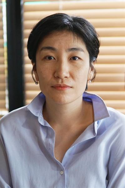 영화 <우리집> 프로듀서를 맡은 김지혜 피디.