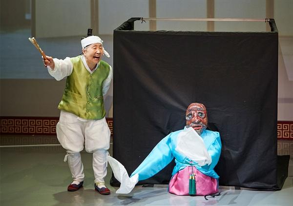 조영숙 발탈보유자 (국가무형문화재 79호)