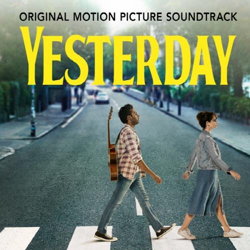 영화 <예스터데이> 사운드트랙 음반 표지