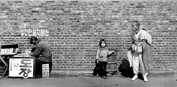 군산 우풍화학 앞(1969)