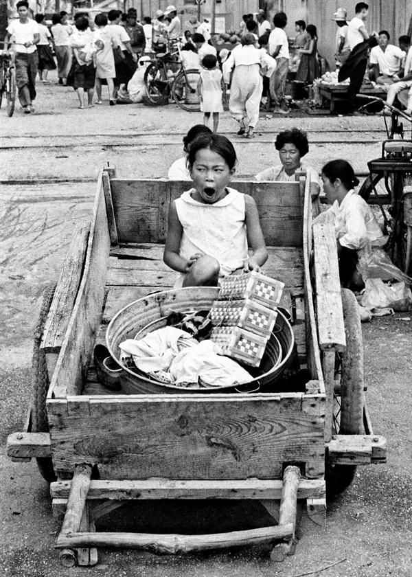 군산 해망동 어시장(1967)